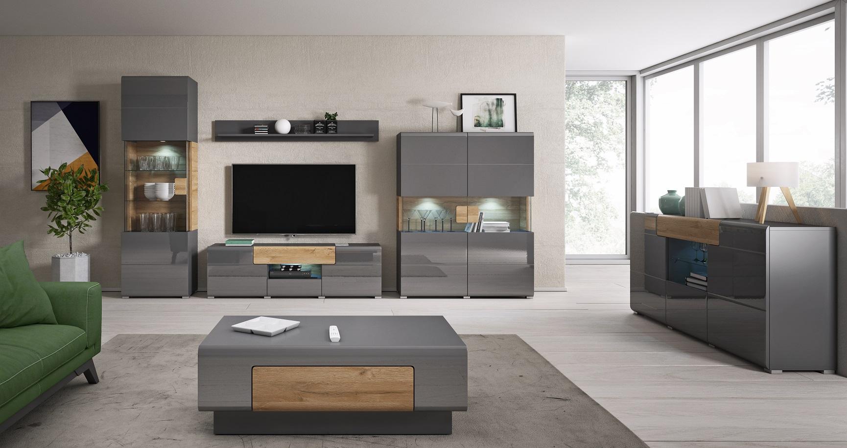 Luxusní bytový nábytek Terto sestava B - Inspirace a fotogalerie