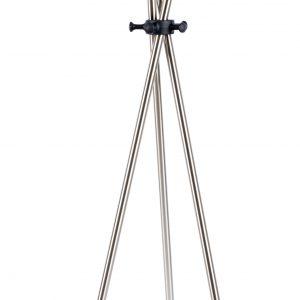 White Label Living Stříbrný kovový věšák WLL DARWIN - Výška174 cm- Šířka 44 cm