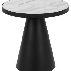 SCANDI Bílý mramorový konferenční stolek Sandro 45