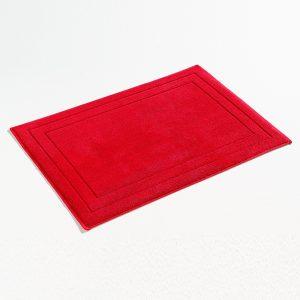 Koupelnová předložka Jasmina červená
