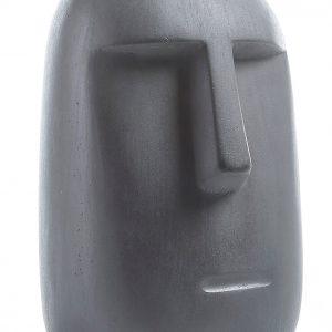 Tmavě šedá dekorativní soška LaForma Levin 31 cm - Výška31 cm- Šířka move 20 cm