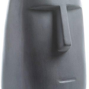 Tmavě šedá soška LaForma Levin 47 cm - Výška47 cm- Šířka move 30 cm