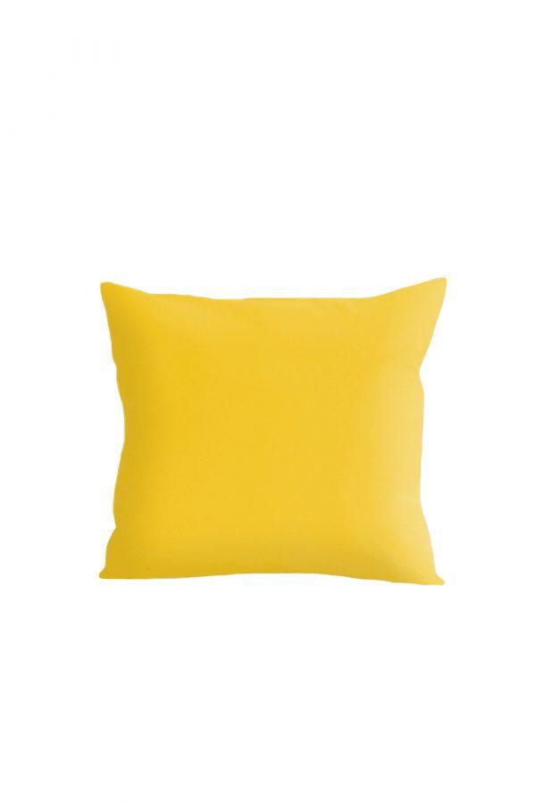 Povlak na polštář žlutý
