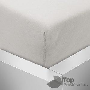 TP Jersey prostěradlo Premium 180g/m2 180x200 Šedá - -