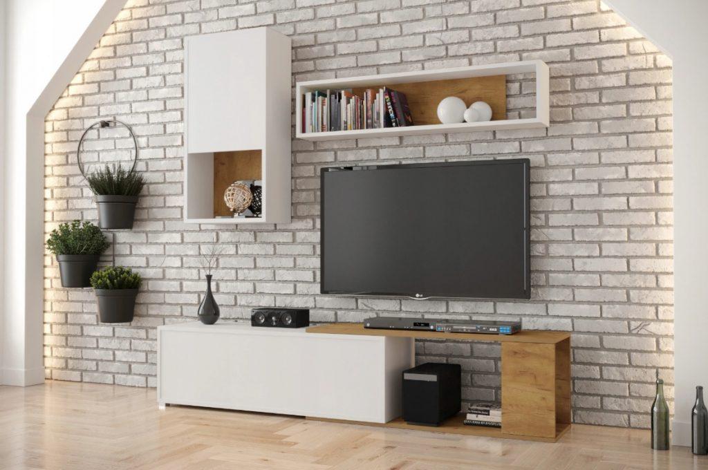 Levná obývací stěna Kasaro