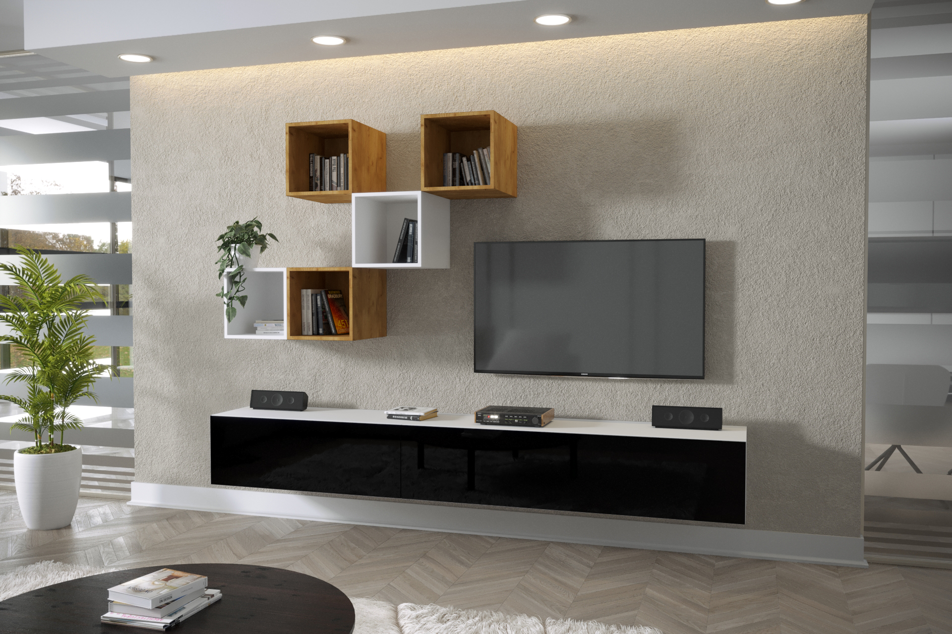 Moderní bytový nábytek Premio J