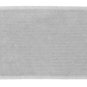 Světle šedá bavlněná koupelnová předložka LaForma Miekki 40 x 60 cm - Výška1 cm- Šířka 40 cm