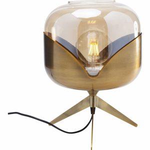 KARE DESIGN Mosazná stolní lampa Golden Goblet Ball - Výška35 cm- Průměr 27 cm