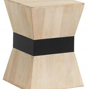 Mangový odkládací stolek LaForma Hops 35 x 35 cm - Výška48