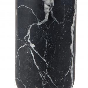 Černá mramorová váza ZUIVER FAJEN - Výška move25 cm- Průměr move 15 cm
