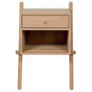Dubový noční stolek Woodman Wiru 51 x 35 cm - Výška70