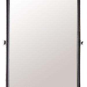 Černé závěsné zrcadlo DUTCHBONE Poke L - Šířka move40