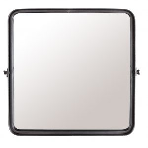 Černé závěsné zrcadlo DUTCHBONE Poke M - Šířka move40