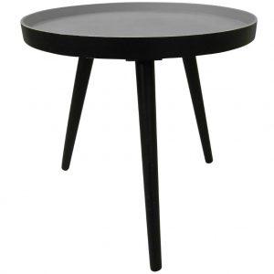 Hoorns Černý jasanový konferenční stolek Aisha 41 cm - Výška40