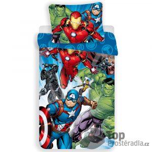 TOP Bavlněné povlečení 140x200+70x90 Avengers - -