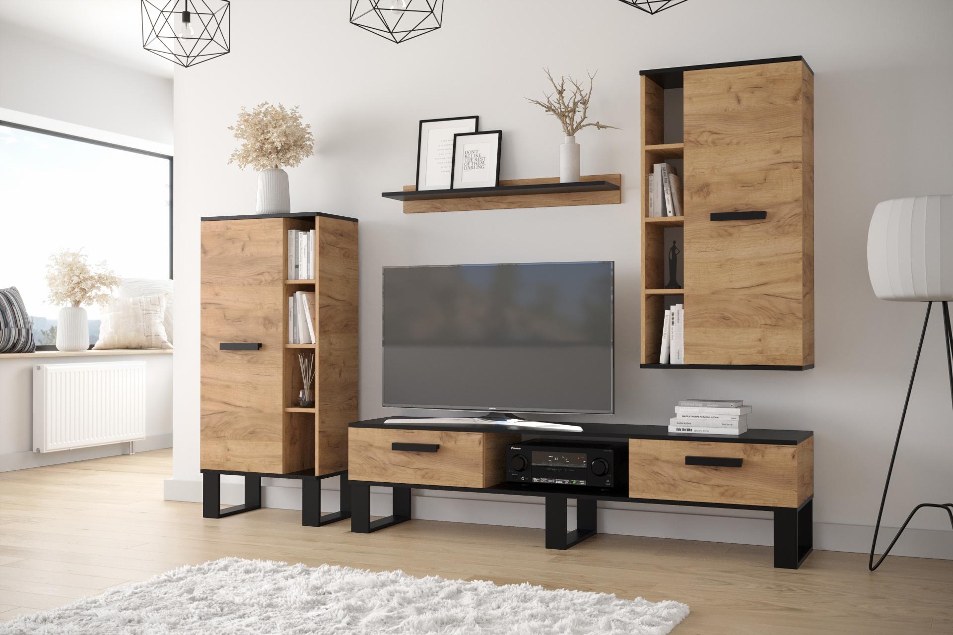 Moderní obývací stěna Garone