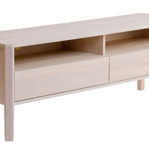 Borovicový TV stolek Woodman Oslo 160 x 42 cm - Šířka160 cm- Hloubka 42 cm