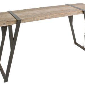 Jedlový toaletní stolek Bizzotto Blocke 153 x 44 cm - Šířka153 cm- Deska move Jedlové dřevo
