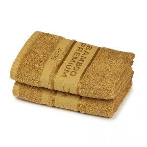 4Home Sada Bamboo Premium ručník svetlo hnedá