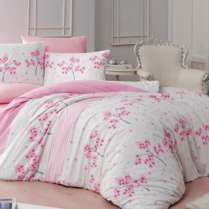 Brotex Bavlněné povlečení 220x200 + 2x 70x90 cm - Viola pink - MateriálBavlna- Rozměr 70 x 90 cm