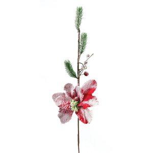 Dekorační květina Zasněžená magnolie