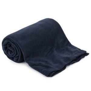 Jahu Fleecová deka UNI tmavě modrá