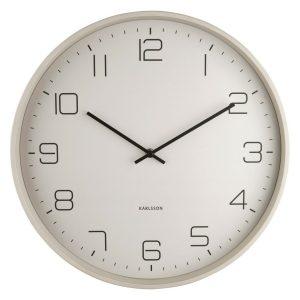Karlsson 5751WG designové nástěnné hodiny
