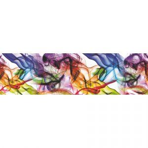 AG Art Samolepicí bordura Barevný kouř