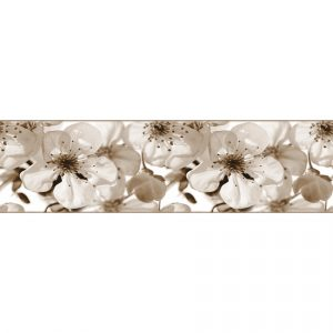 AG Art Samolepicí bordura Jabloňový květ