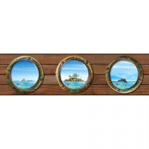 AG Art Samolepicí bordura Ostrov