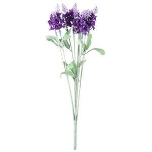 Umělá květina Levandule fialová