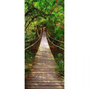 Vertikální fototapeta Green bridge